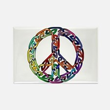 Pride and Peace Rectangle Magnet (100 pack)