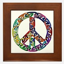 Pride and Peace Framed Tile