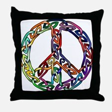 Pride and Peace Throw Pillow