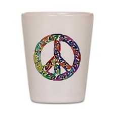 Pride and Peace Shot Glass