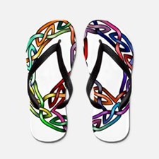 Pride and Peace Flip Flops