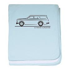 Volvo Amazon Kombi baby blanket