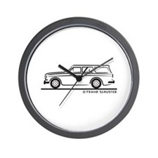 Volvo Amazon Kombi Wall Clock
