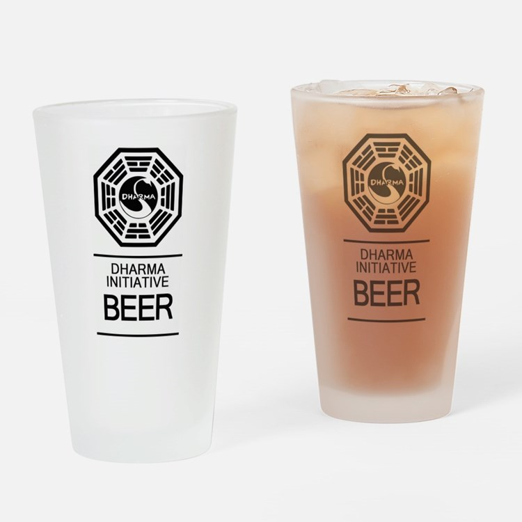 Dharma Initiative Beer Glass