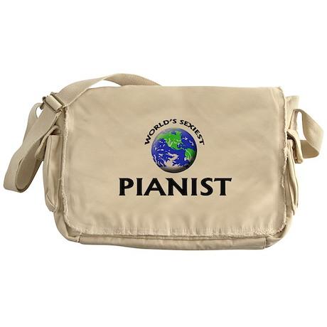 World's Sexiest Pianist Messenger Bag