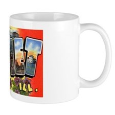 Joliet Illinois Greetings Coffee Mug