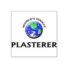 World's Sexiest Plasterer Sticker