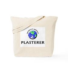 World's Sexiest Plasterer Tote Bag