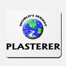 World's Sexiest Plasterer Mousepad