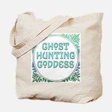 Ghost Hunting Goddess Tote Bag