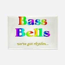 Bass Bells Rectangle Magnet (10 pack)