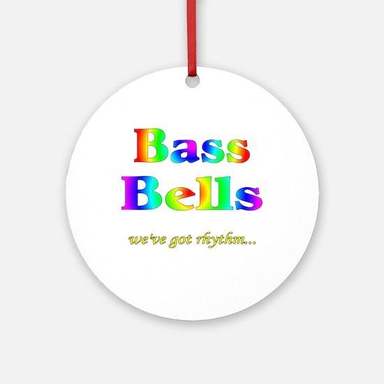Bass Bells Ornament (Round)