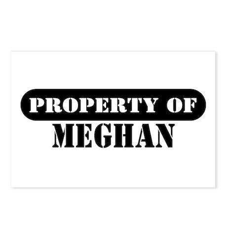 Property of Meghan Postcards (Package of 8)