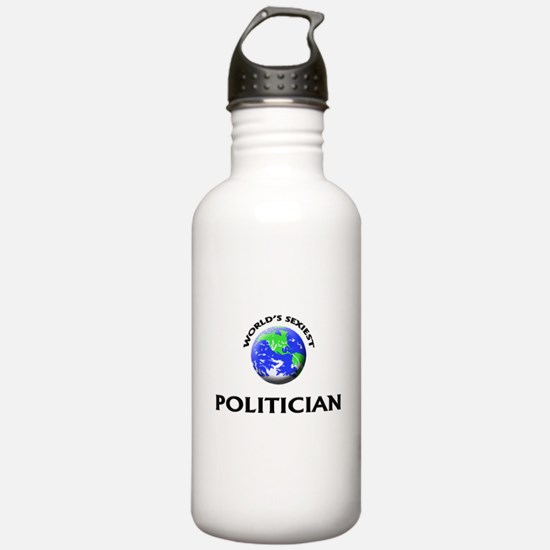 World's Sexiest Politician Water Bottle