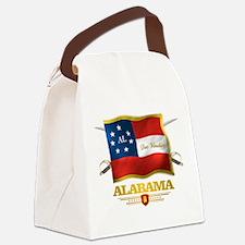 Alabama -Deo Vindice Canvas Lunch Bag