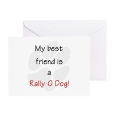 My best friend is a Rall Greeting Cards (Pk of 10)