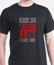 Diabetes Butt Since 1992 T-Shirt