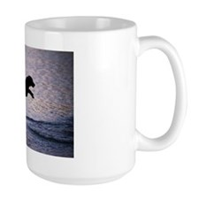 Chesapeake Bay Retriever Leaping In the Water Mug