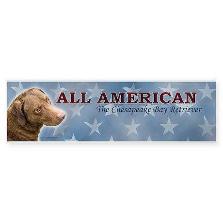 Chesapeake Bay Retriever - All American Bumper Sti