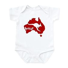 Red Roo Infant Bodysuit
