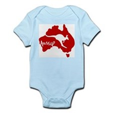 Red Roo Infant Bodysuit