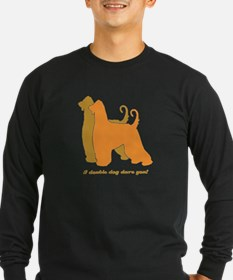 Afghan Hound Double Dog T