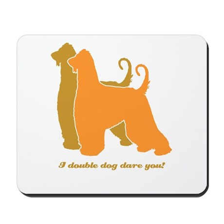 Afghan Hound Double Dog Mousepad