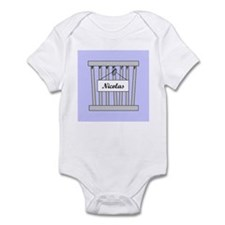 nicolas cage Infant Bodysuit
