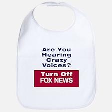 Turn Off Fox News Bib