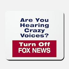Turn Off Fox News Mousepad