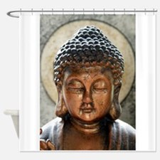 Buddha Blessing Shower Curtain