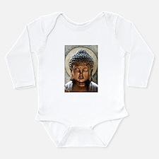 Buddha Blessing Long Sleeve Infant Bodysuit