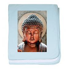 Buddha Blessing baby blanket