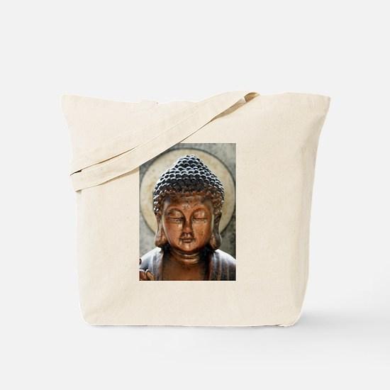 Buddha Blessing Tote Bag