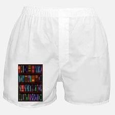 Old Bookshelves Boxer Shorts