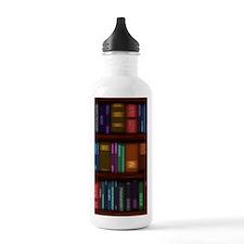 Old Bookshelves Water Bottle
