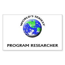 World's Sexiest Program Researcher Decal