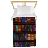 Books Luxe Twin Duvet Cover