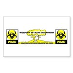 WMD Rectangle Sticker