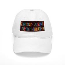 Old Bookshelves Baseball Cap