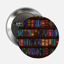 "Old Bookshelves 2.25"" Button (100 pack)"