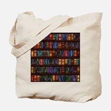Old Bookshelves Tote Bag