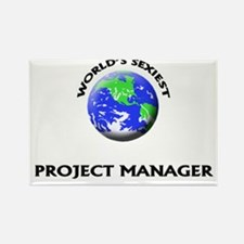 World's Sexiest Project Manager Rectangle Magnet