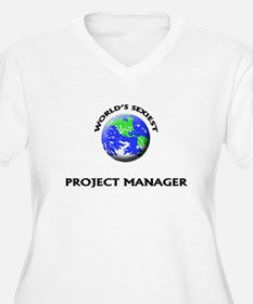 World's Sexiest Project Manager Plus Size T-Shirt