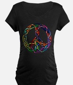 Pride and Peace Maternity T-Shirt