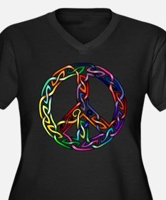 Pride and Peace Goddess Proportioned T-Shirt