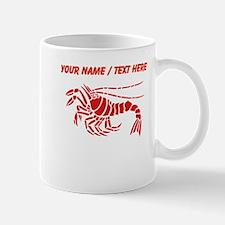 Personalized Red Lobster Design Mug