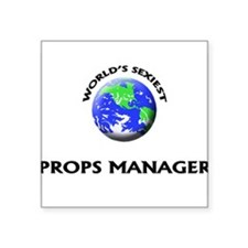 World's Sexiest Props Manager Sticker