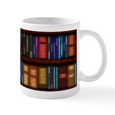 Old Bookshelves Mug