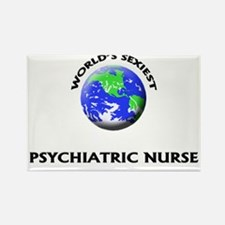 World's Sexiest Psychiatric Nurse Rectangle Magnet